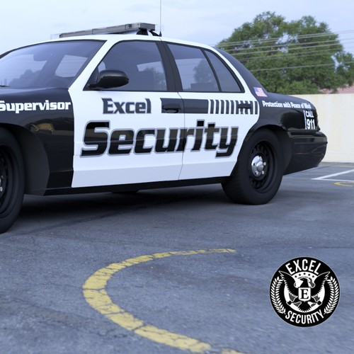 Security Service Vehicle