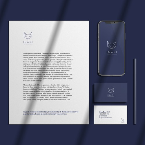 Brand Identity for Inari