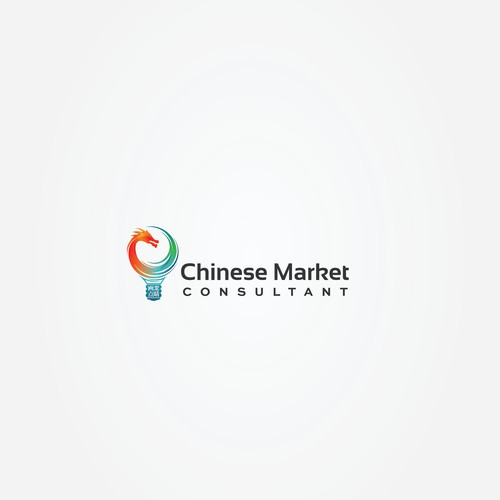 Colorful logo for Chinese Market consultant
