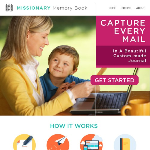 Web Page Missionary Memory Book
