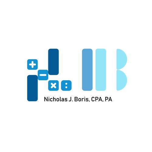 Logo for an accountant