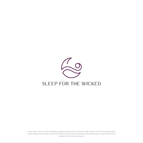 Modern Line Logo for SLEEP FOR THE WICKED
