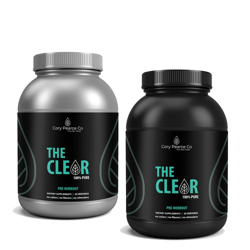 The Clear package design
