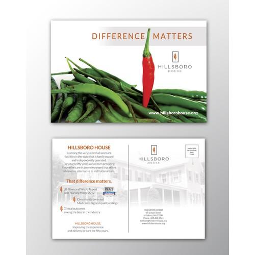 Hillsboro House needs a new postcard or flyer
