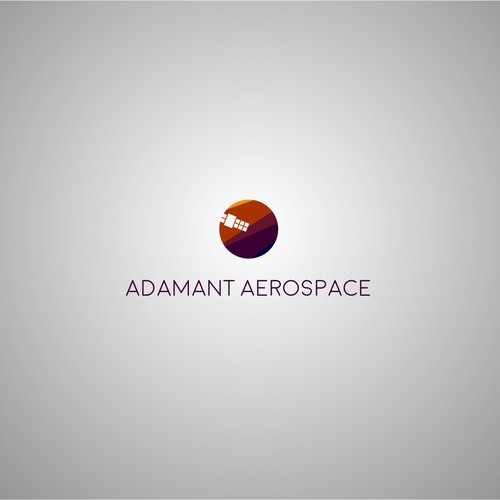 Logo design for satellite company