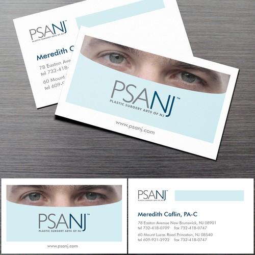Business card concept for PSANJ