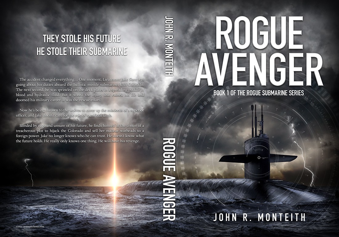 Create cover for book(s) in a 5+ submarine novel series