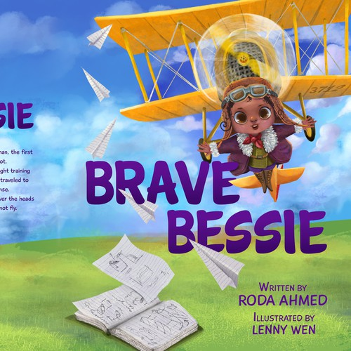 Brave Bessie, children's book