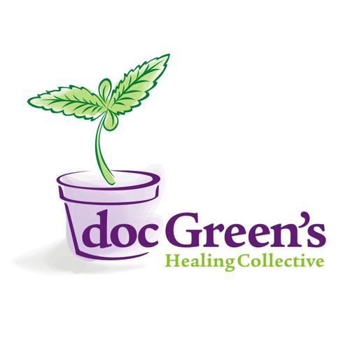 Medicinal Cannabis Collective Logo almost there....