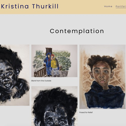 New artist website