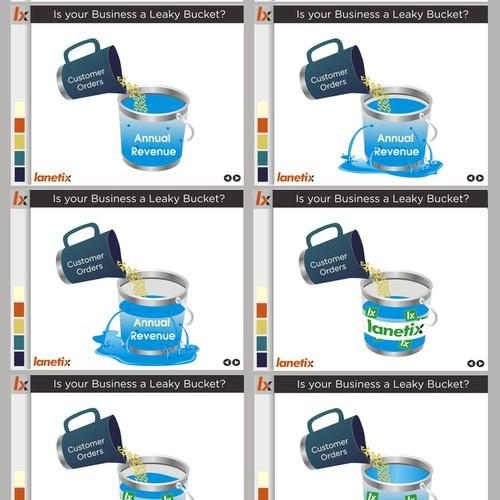 Animation illustration of a Leaky Bucket