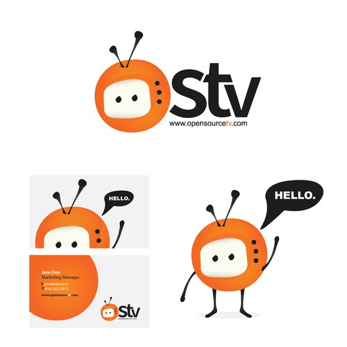 Logo Concept for online television