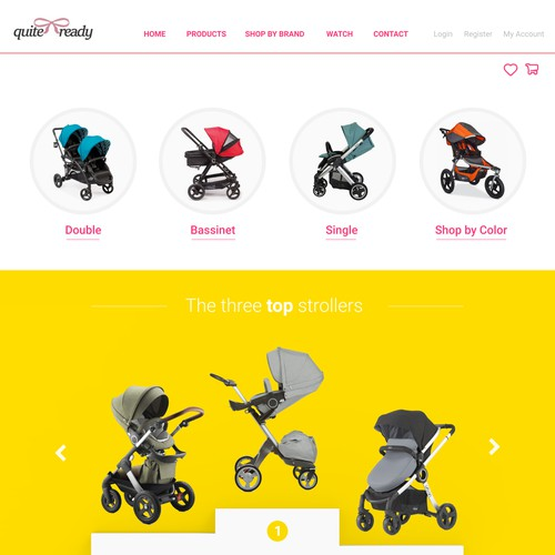 Category display page redesign (shopify)