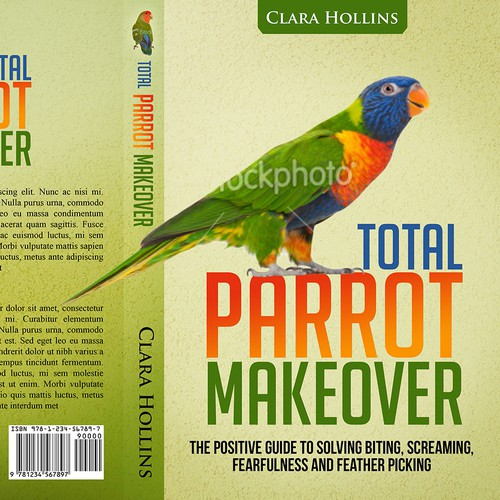 Create the next book cover for Essential Parrot