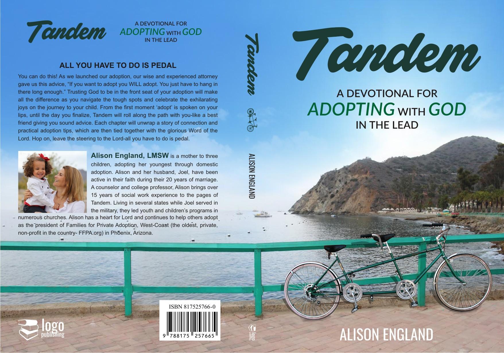 Old-School beach Cruiser, Tandem bike for hopeful adoption story-book cover