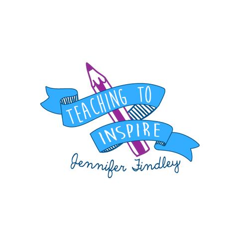Create a clean, whimsical logo for a Teaching Blog and TeacherResource Store