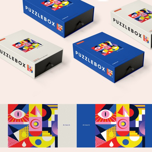 Puzzle box packaging design