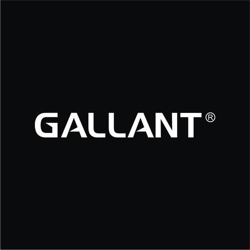 bold logo concept for Gallant