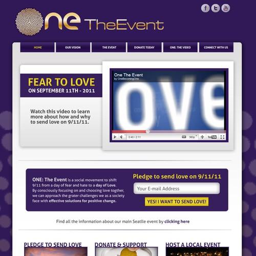 Design ONE The Event Website