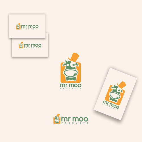 logo for mr moo