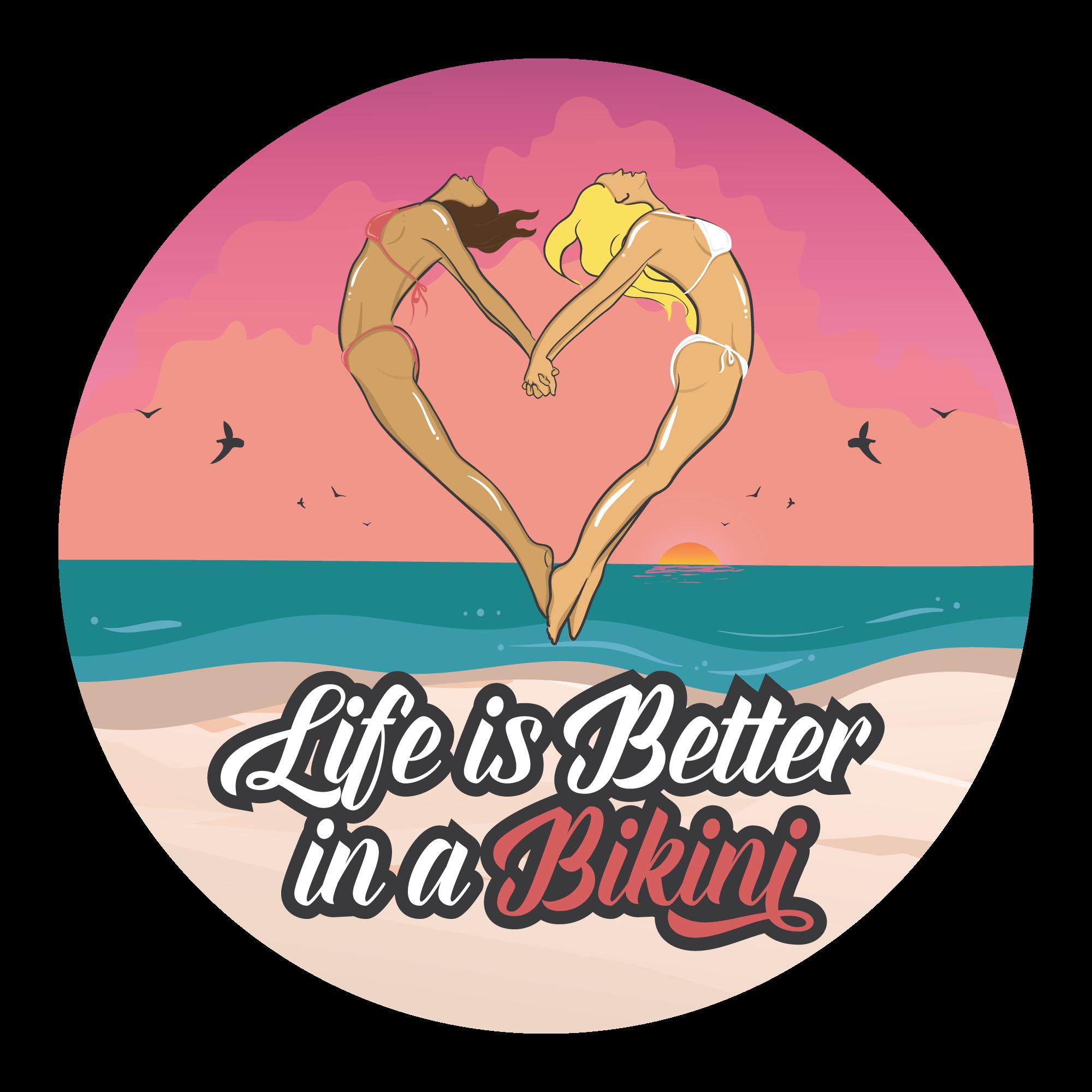 Beach themed stickers!