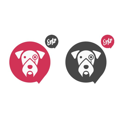 Design a canine mascot for our new website.