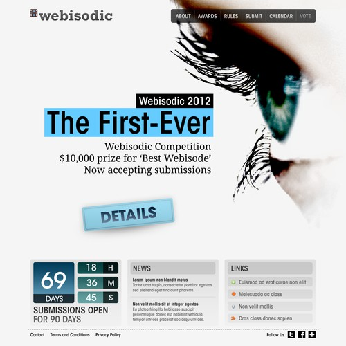 New site for the Webisodic.org 2012 Webisode Competition