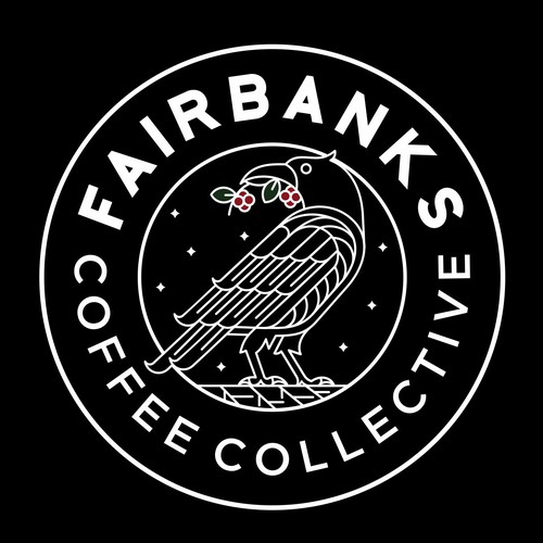 Minimal logo for Fairbanks