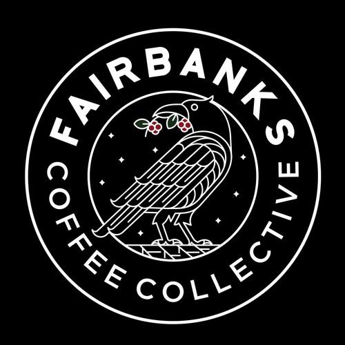 Minimal logo for Fairbanks
