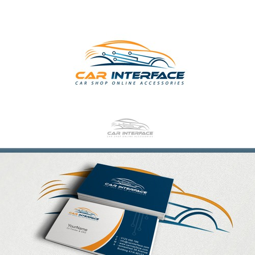 Create simple but attractive logo for Car Interface