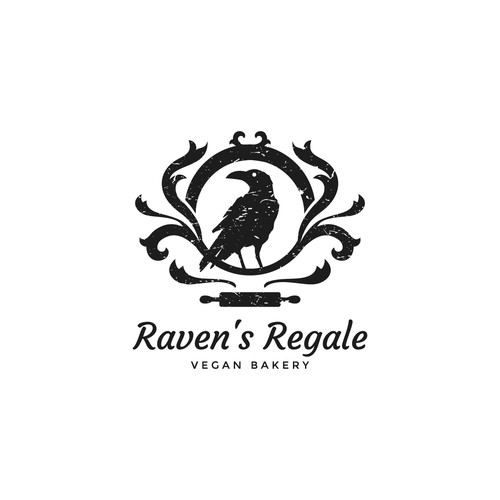 Logo concept for vegan bakery