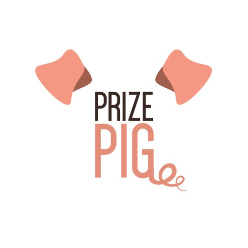 Create a professional logo with a little pig