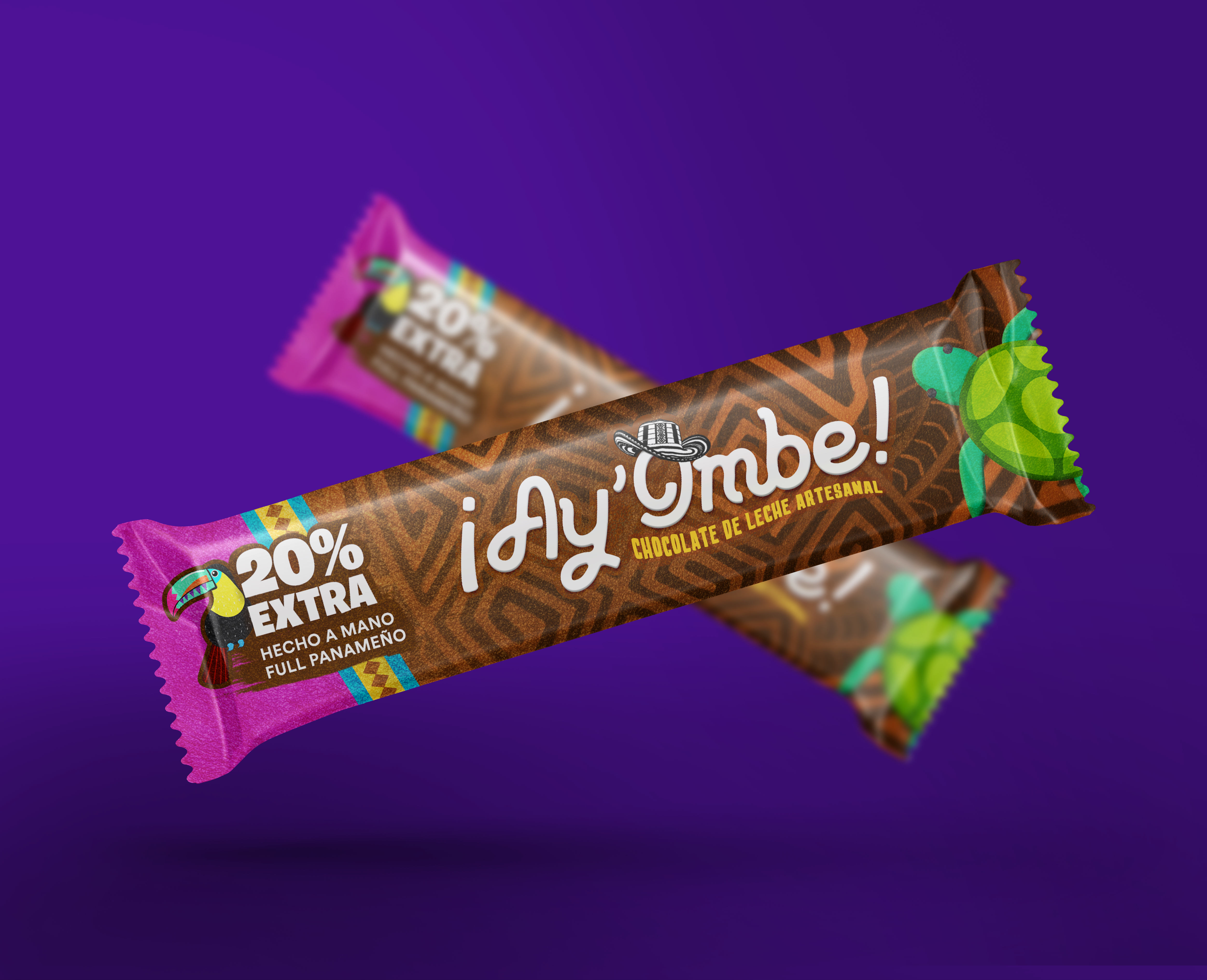 Ay'Ombe chocolate bar