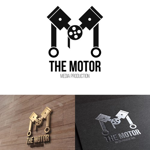 The Motor - Logo design