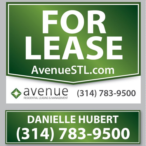 signage for Avenue Residential Leasing & Management
