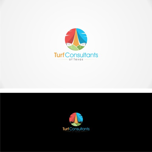 Vintage logo for Turf Consultants of Texas