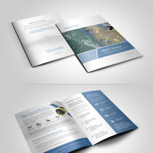 Create Technologically Advanced Brochure for Innovative Water Company !!