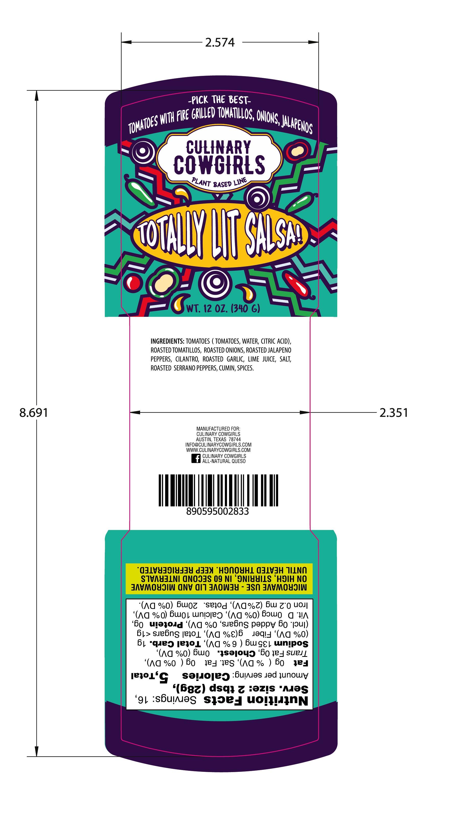 food label for national line