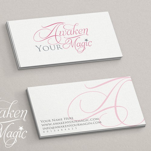 Create a classic logo for life-changing Awaken Your Magic Coaching Program