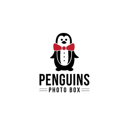 Penguins photo box