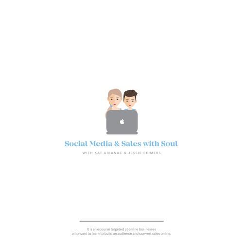 Social Media e-course logo