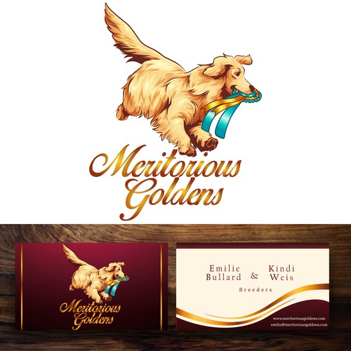 Logo for Meritorious Goldens