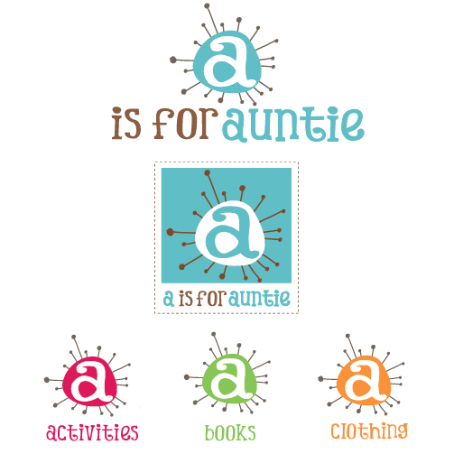 A is for Auntie needs a new logo