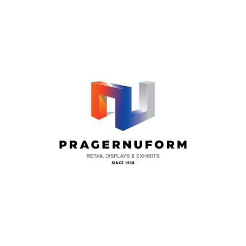 3D logo design for Pragernuform