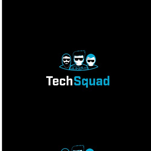 Tech Squad Logo Design