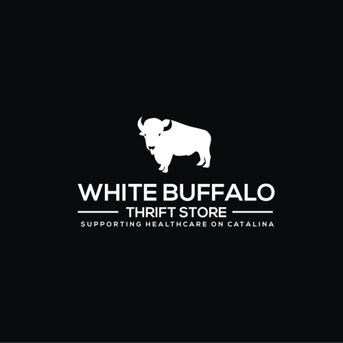 White Buffelo Logo