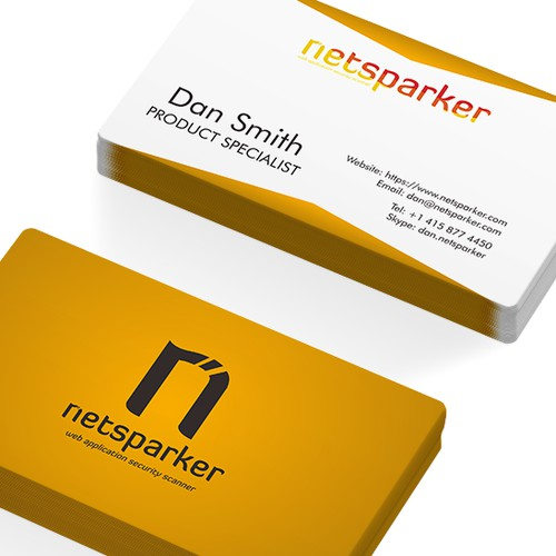 Design a Business Card for an International Software company