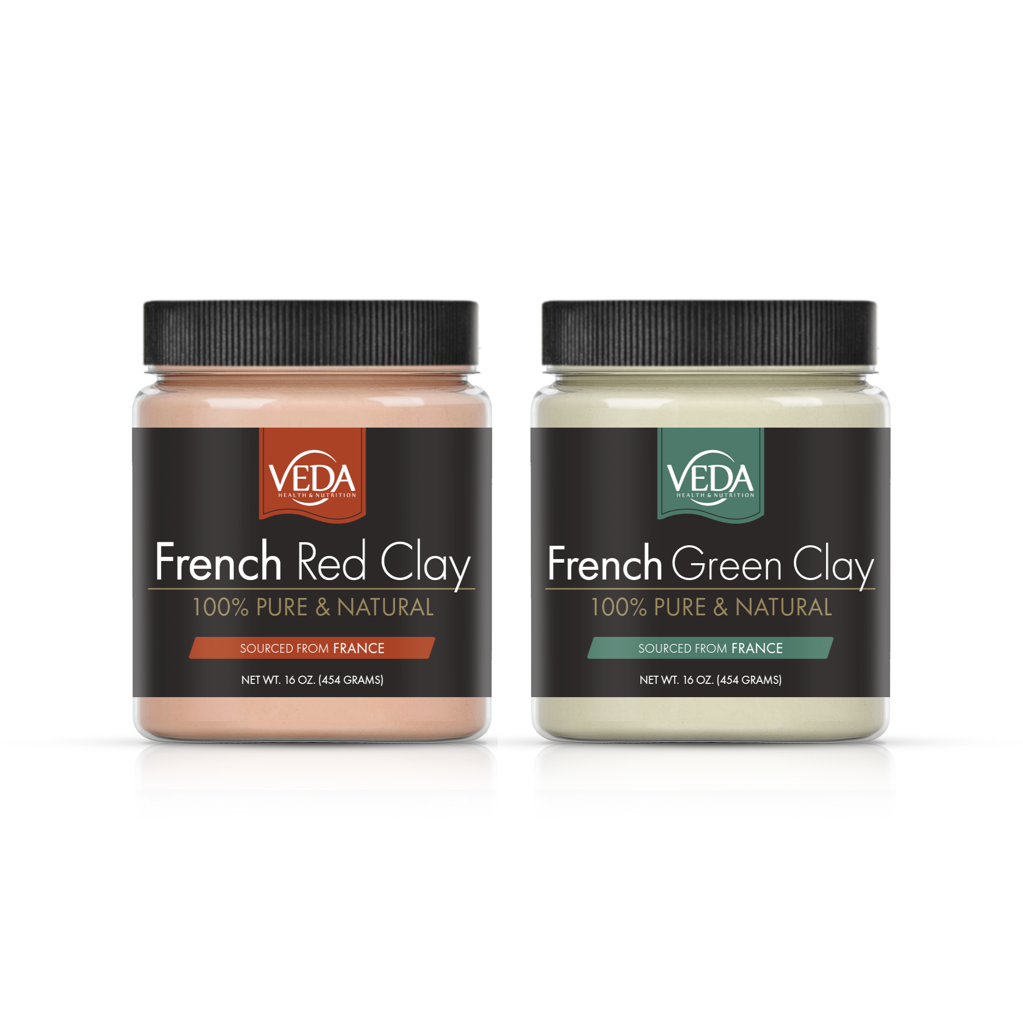 VEDA French Clay Label x 2
