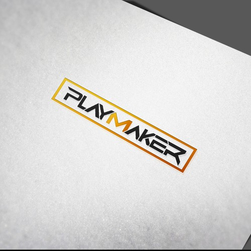 Modern Logo Design For Playmaker Clothing Company