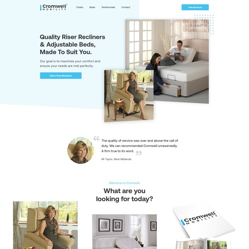 Clean Webdesign